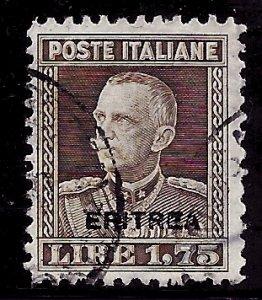 Eritrea # 107A, Used. CV $ 47.50
