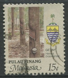 STAMP STATION PERTH Penang #92 Agriculture Type Definitive Used 1986