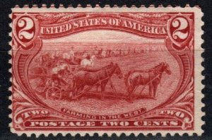 US #286 Unused  CV $25.00 (X2349)