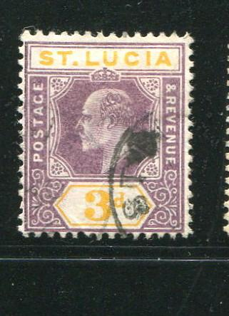 St Lucia #47 used