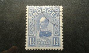 Norway #68 used die B e203 7530