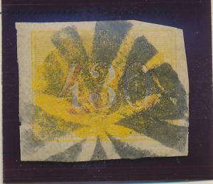 Brazil Stamp Scott #40, Used, Heavy Cancel - Free U.S. Shipping, Free Worldwi...