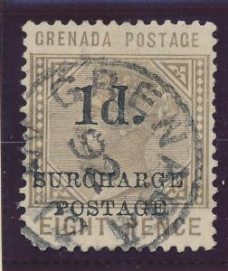Grenada Stamp Scott #J-5 Postage Due, Used - Free U.S. Shipping, Free Worldwi...