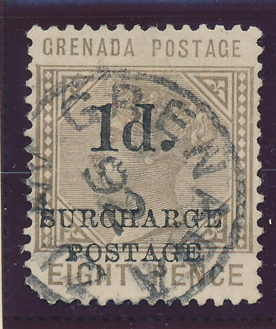 Grenada Stamp Scott #J-5 Postage Due, Used - Free U.S. Shipping, Free Worldwi...