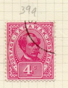 Sarawak 1899 Early Issue Fine Used 4c. 276149