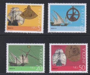 Angola # 812-815, Navigation Aids, NH 1/2 Cat.