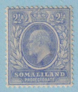 SOMALILAND PROTECTORATE 43  MINT HINGED OG * NO FAULTS EXTRA FINE !