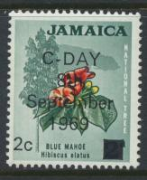 Jamaica SG 281 MH  SC# 280  Decimal Currency OPT see details