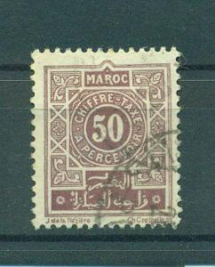French Morocco sc# J32 used cat value $.25