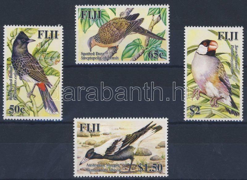 Fiji Islands stamp Exotic birds set MNH 2007 Mi 1202-1205 WS33415