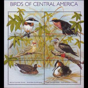 GUYANA 2002 - Scott# 3718 S/S Birds NH
