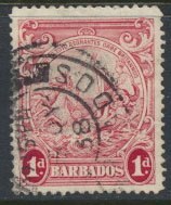 Barbados  SG 249a SC# 194  perf  14  Used  see detail and scan