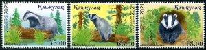 2021 Kyrgyzstan Badger (Scott NA) MNH