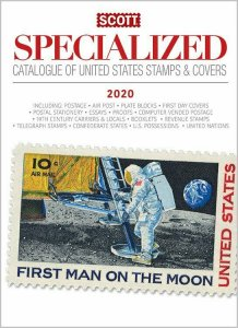 Scott Stamp Catalog 2020 USA UNITED STATES STAMPS & COVERS SPECIALIZED