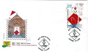 TURKISH CYPRUS 2019 - TRNC NATIONAL STAMP EXHIBITION-FDC