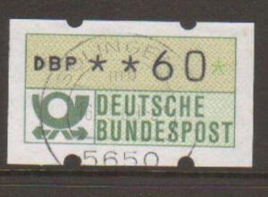Germany Frama Label #1 Used