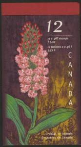 Canada 1790a Booklet BK219a MNH Flowers, Orchids