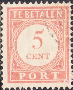 Netherlands Indies #J28a  Used