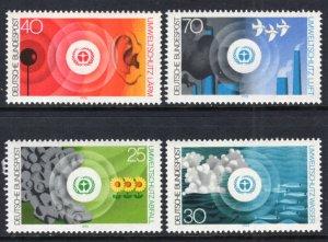 Germany 1119-1122 MNH VF