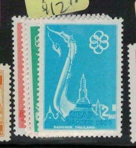 Thailand SC 333-6 MNH (8ees)