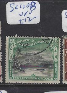 NORTH BORNEO  (P3012BB)  MOUNTAIN 18C  SG 110B   VFU