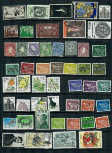 IRELAND  MIX X 47 ALL DIFFERENT  USED LOT O