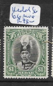 MALAYA  KEDAH   (PP0706B)   $1.00  SG 66  MNH