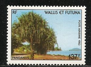 Wallis and Futuna Islands C127 1983 Tree single MNH