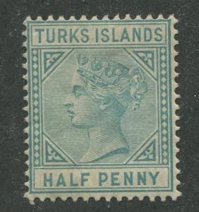 TURKS ISLANDS #48a MINT