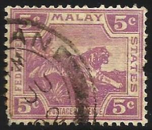 Malaya 1922 Scott# 58 used