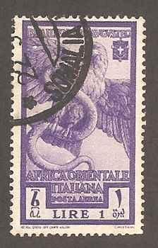 Italian East Africa C13 Used F-VF