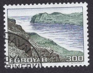 Faroe Islands  #17  1975 used  300 ore