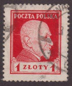 Poland 226 Stanislaus Wojciechowski 1924