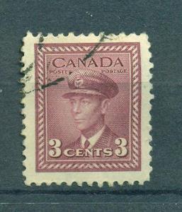 Canada sc# 252 used cat value $.25