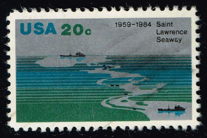 US #2091 St. Lawrence Seaway; Used at Wholesale