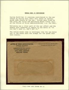 GREAT COLLECTION OF WORLD WAR II RATION BOOKS, STAMPS, & TOKENS BT3874