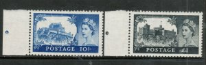 Great Britain #311 - #312 Very Fine Never Hinged Duo