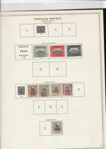 dominican republic stamps page ref 17004