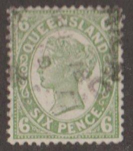 Queensland - Australia Scott #138 Stamp - Used Single
