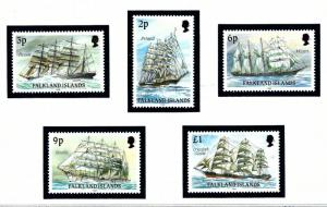 Falkland Is 486a//498a MNH 1991 issues inscribed 1991