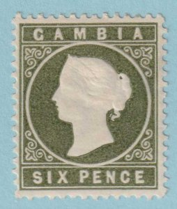 GAMBIA 18 MINT HINGED OG *  NO FAULTS EXTRA FINE