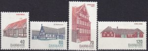 Denmark #513-6 F-VF Unused CV $2.75 (Z8142)