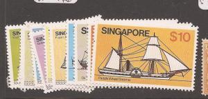 Singapore SG 364-76 MNH (6dbq)