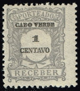 Cape Verde #J22 Postage Due; Unused (2Stars)