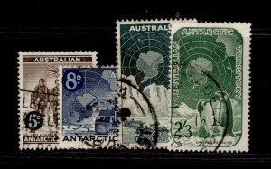 AUSTRALIA - Antarctic Territory QEII SG2-5, complete set, FINE USED.