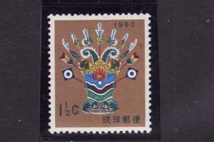 Ryukyu Islands-Sc#63-unused NH-Toy-New Year-1960-