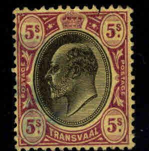 Transvaal Scott 278 Used 1904 KEVII stamp wmk 3