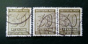 Germany West Sachsen 2 x Mi 135Yb used