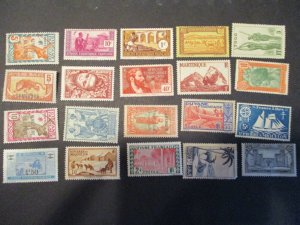 French Colonies / Area Assortment -  Hinged- (5D4) WDWPhilatelic #14