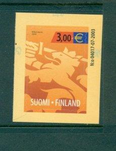 Finland - Sc# 1210. 2004 Heraldic Lion. MNH. $9.50.